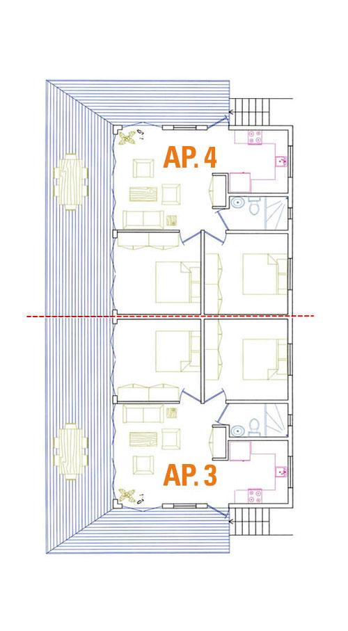 HSH Appartementen Curacao 3 en 4