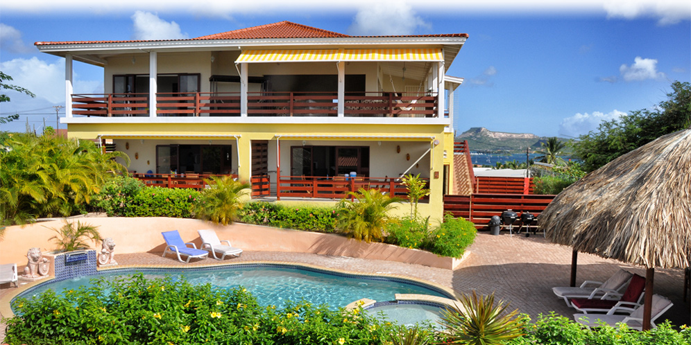Home sweet home mini resort curacao luxury vacation rental for Suite home